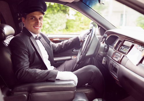 Limo Chauffeur Smiling - SD Car Service