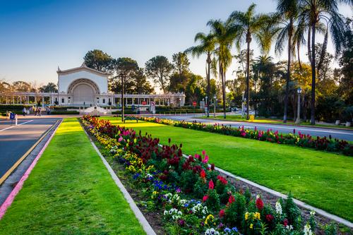 Spreckels Organ Pavilion Balboa Park San Diego - Luxury Car Service San Diego