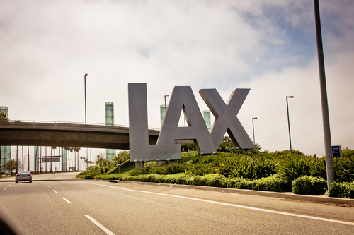 LAX Airport Departures