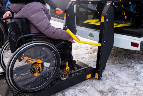 How to make wheelchair transportation comfortable
