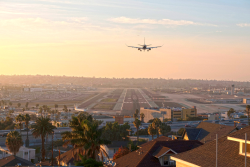 Where is San Diego airport located