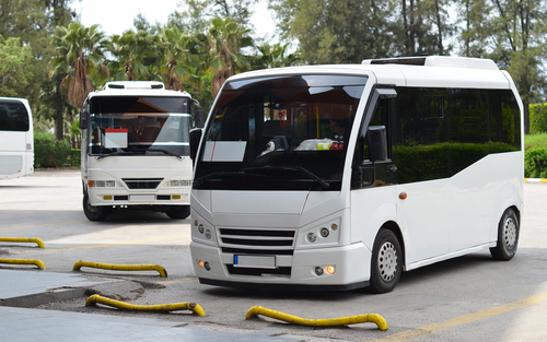 What should I look out for when using an airport shuttle service