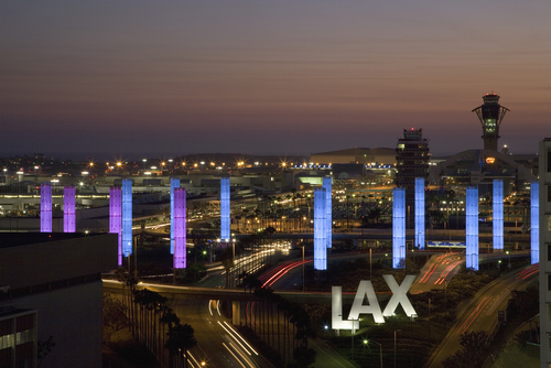 How busy is LAX