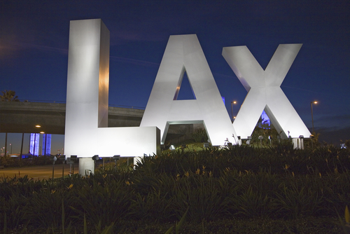 How long does it take to get through security at LAX