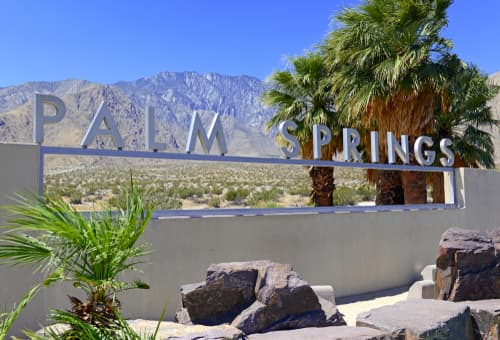 Is Palm Springs closer to LA or San Diego